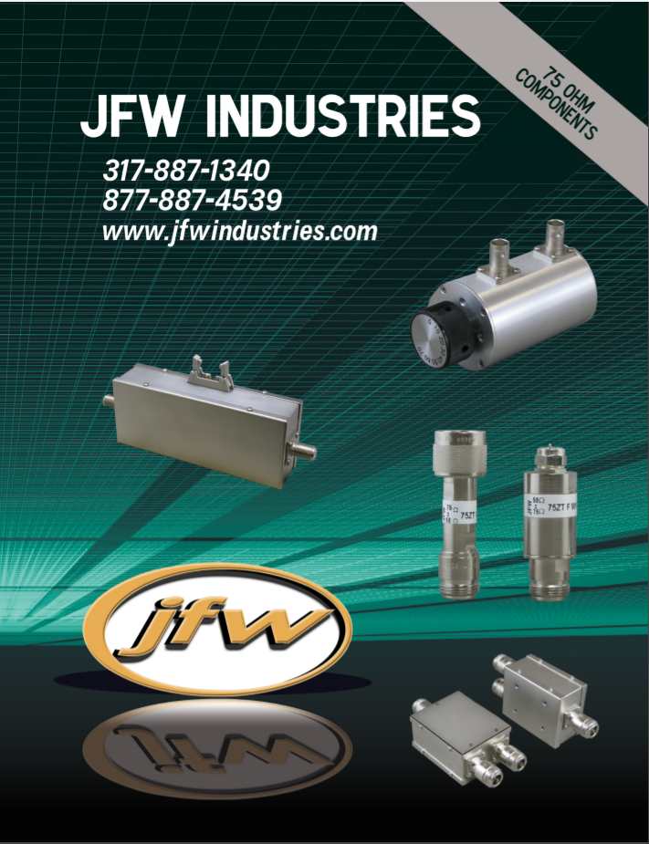 Каталог JFW 75 Ohm Components