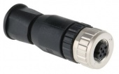 HARTING 21033192401 роз'єм, Socket, Female contacts, 4 way, 250 V, 7.5A, M12, IP67