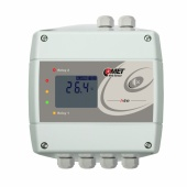 Comet H4531 вимірювач температури, Ethernet, 1ch, -200 to +600 °C, 2 relay output, 3 binary input, LCD, Pt1000
