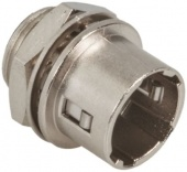 Hirose HR10A-7R-4PC(73) роз'єм, Plug, Male contacts, 4 way, 150 V ac, 2A, Panel Mount