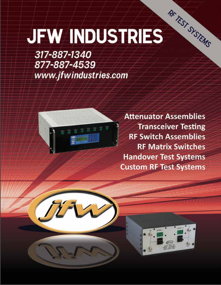 Каталог JFW Test Systems