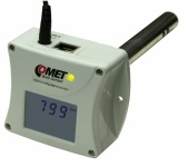 Comet T5545 датчик рівня CO2 канального монтажу з Ethernet інтерфейсом 1ch, 0 to 2 000 ppm, LCD, Duct mount
