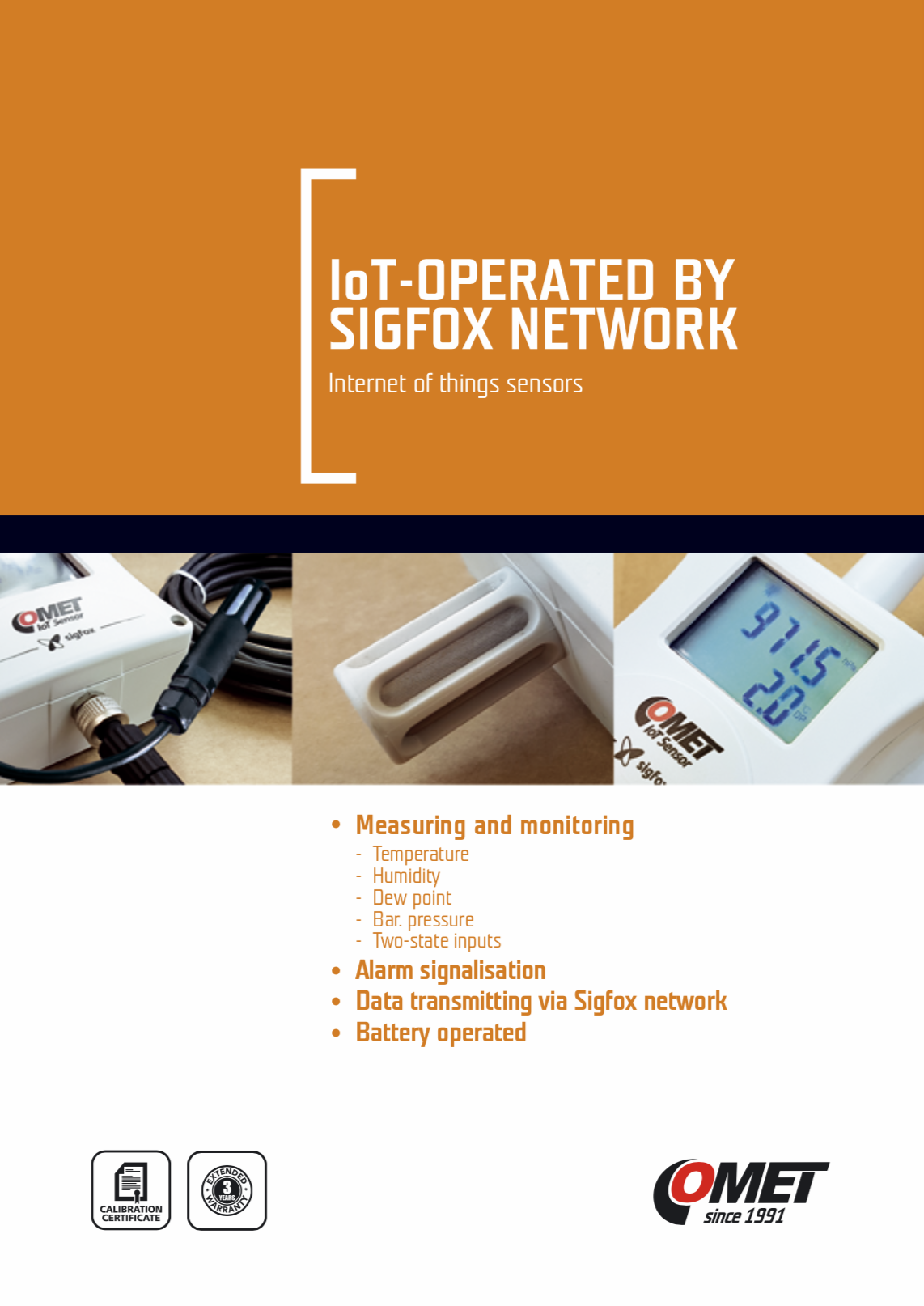 Comet IoT - Operated by Sigfox Network 2018