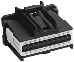Molex 34729-0120 корпус роз'єму, Socket, 2 Row, 12 Way, PCB