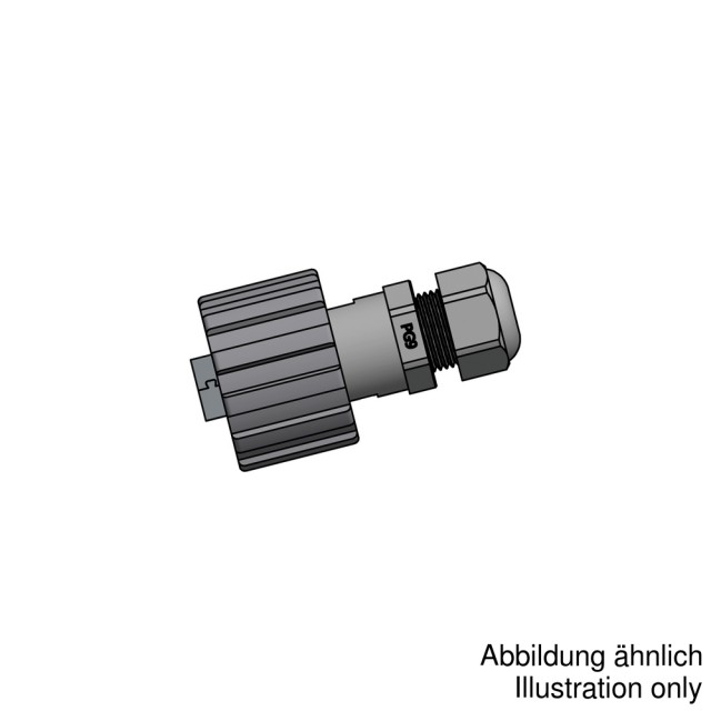 Conec 17-200731 разъем USB 2.0 Type A, Plug, IP67, M28 thread