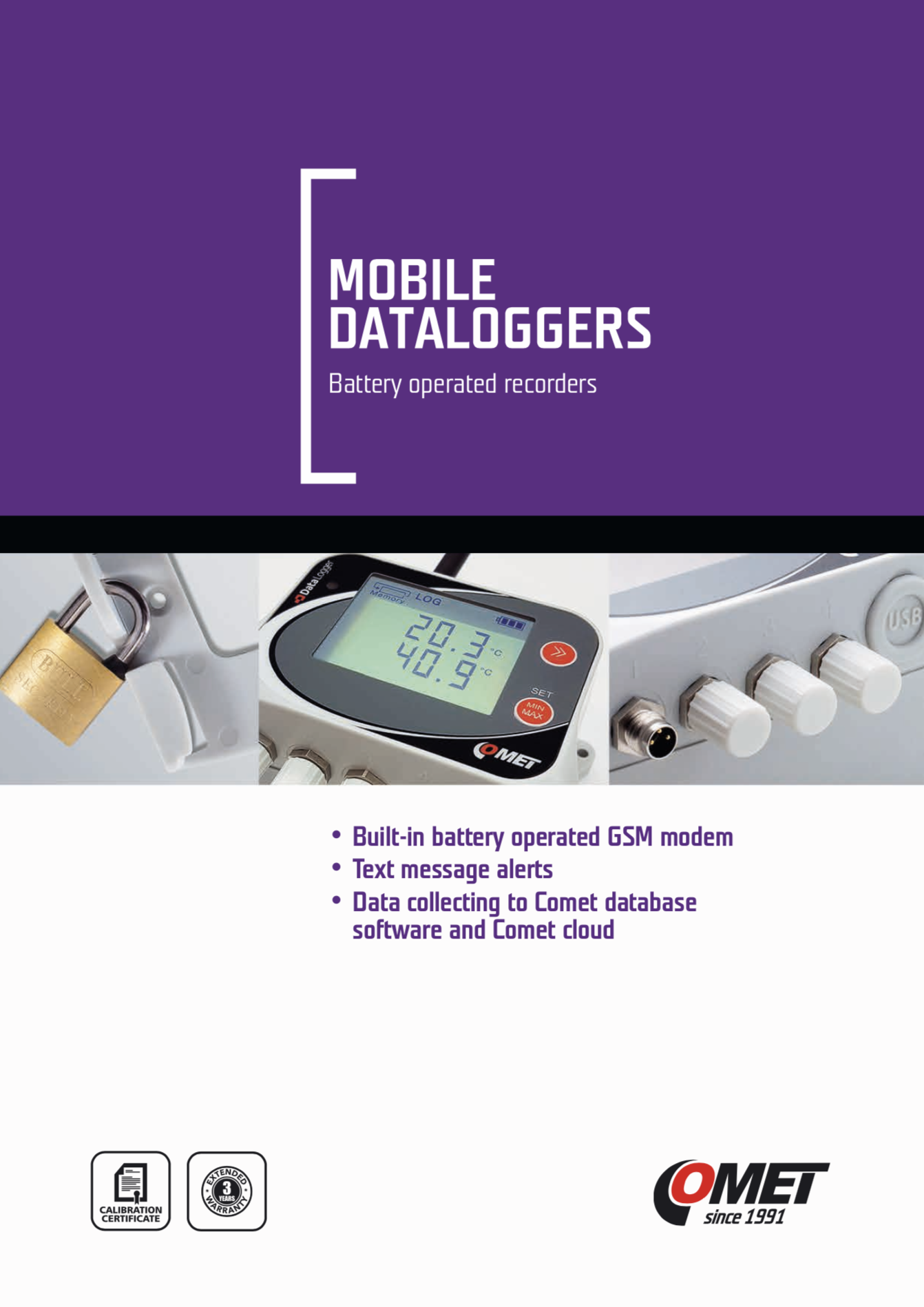 Comet Mobile Dataloggers