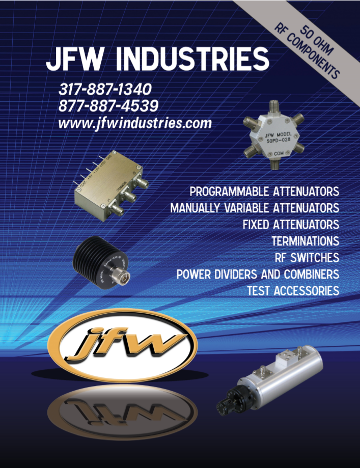 Каталог JFW 50 Ohm Components