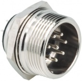 Hirose RM15TRH-4PA(71) роз'єм, Socket, Male contacts, 4 way, 500 V ac, 10A, Panel Mount