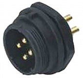 RS PRO 124-6656 роз'єм, Plug, Male contacts, 3 way, 500 V, 10A, IP68, Panel Mount