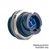 Conec 17-300020 оптический разъем, Receptacle, LC Duplex MM, Bayonet, IP67