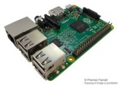 Компьютер одноплатный Raspberry Pi 2 Model B v1.2, Quad Core CPU, 1GB RAM, 40 GPIO Pins, HDMI Port