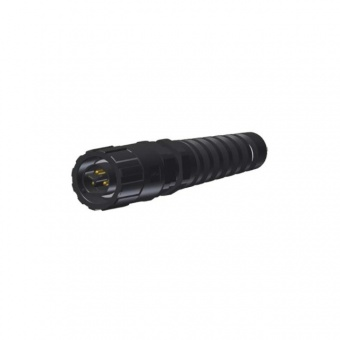 Conec 17-400283 разъем, Plug, 2-pos.+PE, IP67 Power Bayonet