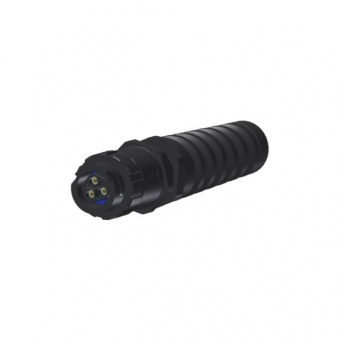 Conec 17-400163 разъем, Socket, 2-pos.+PE, IP67 Power Bayonet