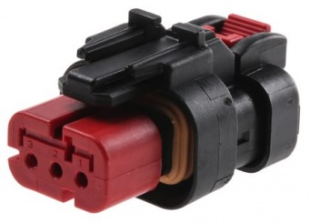 TE Connectivity 776429-1 корпус роз'єму, Plug, 1 Row, 3 Way