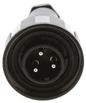 Bulgin  PX0731/P разъем, Plug, 3 Pole, 10A, 250VAC/DC, IP68
