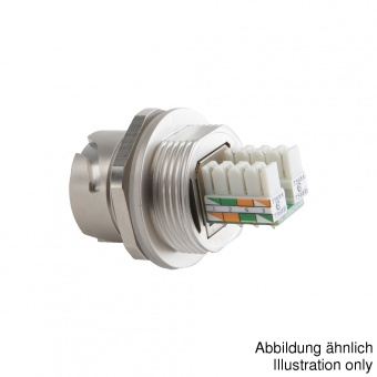 Conec RJ45 разъем 17-10016, Socket, Bayonet, IP67